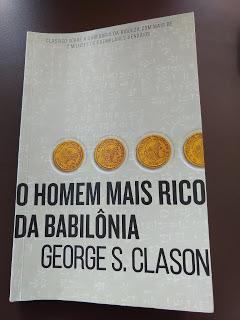 O homem mais rico da Babilônia, de George S.Clason.