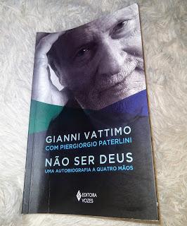 Não ser Deus, de GianniVattimo
