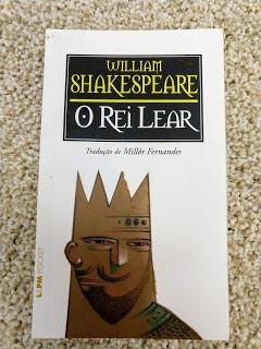 O Rei Lear, deShakespeare.